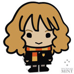 2 $ Dollar Chibi Coin Collection - HARRY POTTER™ - HERMIONE GRANGER™ Niue Island 1 oz Silber 2020 **
