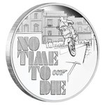 1 $ Dollar James Bond - 007 - No Time To Die - Tuvalu 1 oz Silber PP 2020 **