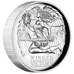 1 $ Dollar Winged Victory High Relief Australien 1 oz Silber PP 2021 **