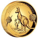 200 $ Dollar Kangaroo Känguru High Relief Australien 2 oz Gold PP 2020