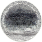 25 $ Dollar 7 Summits Carstensz Pyramid Ultra High Relief Cook Islands 5 oz Silber 2020 **