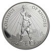 1 oz Silver - 7 Wonders of the Ancient World - Colossus of Rhodes - Koloss von Rhodos 1 oz Silber BU