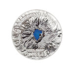 25 $ Dollar Summits Baekdusan Ultra High Relief Cook Islands 5 oz Silber 2019