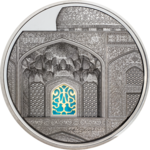 25 $ Dollar Tiffany Art - Isfahan Black Proof Palau 5 oz Silber PP 2020 **