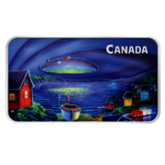 20 $ Dollar Canada's Unexplained Phenomena - The Clarenville Event Kanada 1 oz Silber PP 2020 **