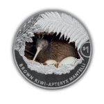 1 $ Dollar Brown Kiwi Silver Proof Neuseeland 1 oz Silber PP 2021 **