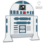 2 $ Dollar Chibi Coin Collection - STAR WARS™ - R2D2™ Niue Island 1 oz Silber 2020 **