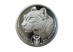 20 Rand BIG FIVE - Leopard Südafrika South Africa 1 oz Platin Platinum PP 2020