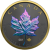 5 $ Dollar Chameleon Edition - Maple Leaf Kanada 1 oz Silber + Ruthenium 2020 **