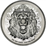 2 $ Dollar Roaring Lion - Löwe High Relief Niue Island 1 oz Silber 2021 **