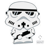 2 $ Dollar Chibi Coin Collection - STAR WARS™ - STORMTROOPER™ Niue Island 1 oz Silber 2020 **
