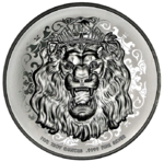 10 $ Dollar Roaring Lion - Löwe High Relief Niue Island 5 oz Silber 2021 **