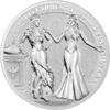 5 Mark The Allegories Italia & Germania 1 oz Silber BU 2020 **