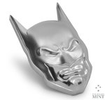 5 $ Dollar DC Comics – BATMAN™ Mask Ultra High Relief Niue 2 oz Silber 2021 **