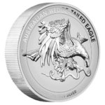 1 $ Dollar Wedge-Tailed Eagle Keilschwanzadler High Relief Australien 1 oz Silber Rev. Proof 2021 **