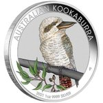 1 $ Dollar World Money Fair WMF Berlin Coin Show Special Kookaburra Australien 1 oz Silber 2021 **