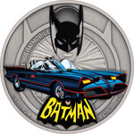 2 $ Dollar DC Comics™ - Batman - Batmobile 1966 Niue Island 1 oz Silber 2021 **