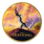 2 $ Dollar Disney Lion King - Circle of Life - Niue Island 1 oz Silber coloured 2020 **