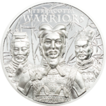 5 Dollar Terracotta Warriors Terrakottakrieger Cook Islands 1 oz Silber PP 2021 **