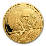 250 $ Dollar Icons of Inspiration - Galileo Galilei Niue Island 1 oz Gold 2021