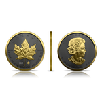 5 $ Dollar Golden Ring Edition - Maple Leaf Kanada 1 oz Silber 2021 **