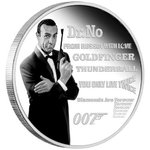 1 $ Dollar James Bond Legacy Series - 007 - Sean Connery Tuvalu 1 oz Silber PP 2021 **