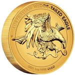 100 $ Dollar Wedge-Tailed Eagle Keilschwanzadler High Relief Australien 1 oz Gold Enhanced 2021