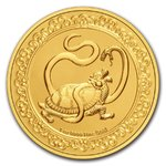 250 $ Dollar Feng Shui - Celestial Animals - The Black Turtle Niue Island 1 oz Gold 2021